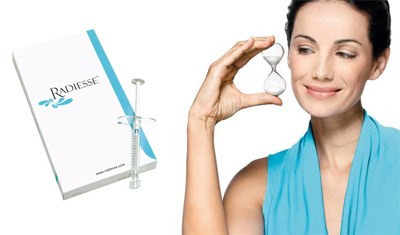 Radiesse - коррекция овала лица